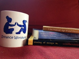 Enhance Worldwide Mug and Book