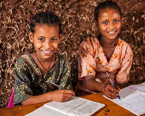 Girls Studying - Enhance Worldwide